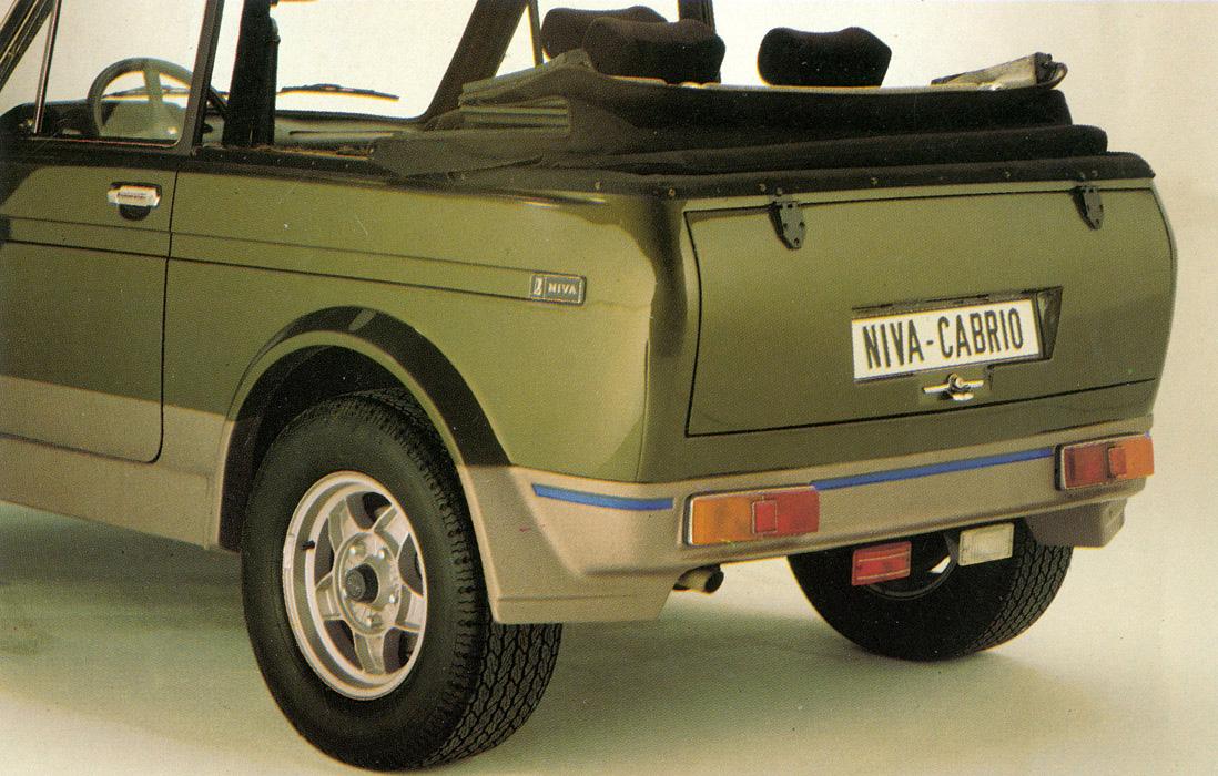 Lada 4x4 Cabrio: легендарная «Нива» стала кабриолетом и покорила Германию